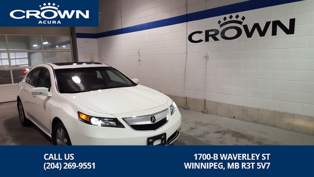Pre-Owned 2014 Acura TL Tech **Navigation ** Heated Leather Seats**