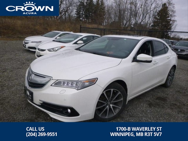 Certified Pre-Owned 2016 Acura TLX Elite V6 SH-AWD **Certified** Fully Loaded**
