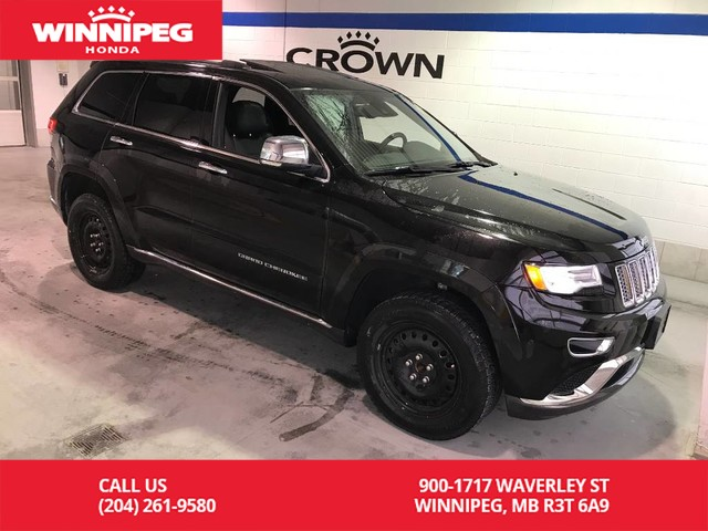 Pre-Owned 2016 Jeep Grand Cherokee Summit/Hemi/Heated seats/Heated steering wheel/Power tailgate