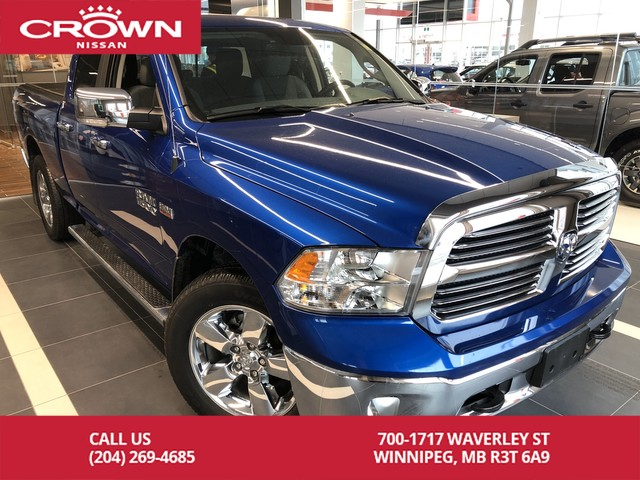 Pre-Owned 2017 Ram 1500 5.7L HEMI 4WD Big Horn *Bluetooth/Backup Cam/Heated Seats*