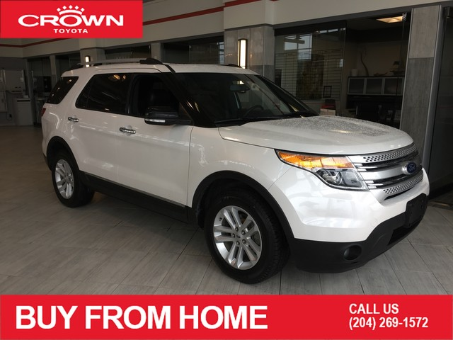 Pre-Owned 2013 Ford Explorer Local Trade | 4WD | XLT