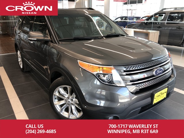 Pre-Owned 2015 Ford Explorer LIMITED 4WD *Clean CarFax/Navigation/Bluetooth*