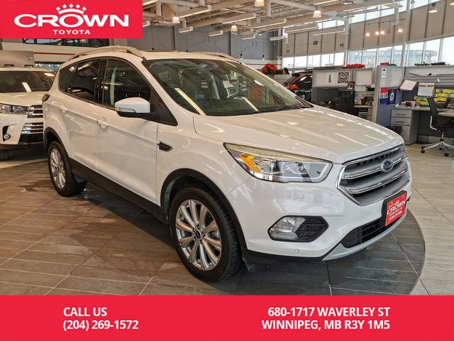 Pre-Owned 2017 Ford Escape Titanium 301A Tech Pkg / One Owner / Local / Accident Free / Great Condition
