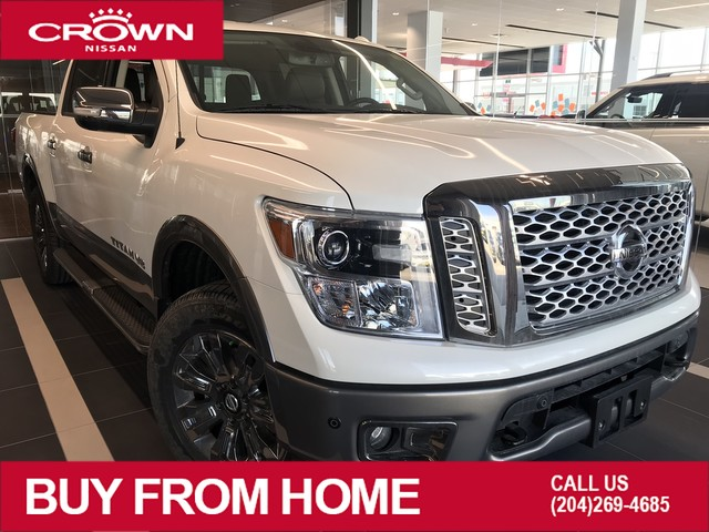 New 2019 Nissan Titan Platinum