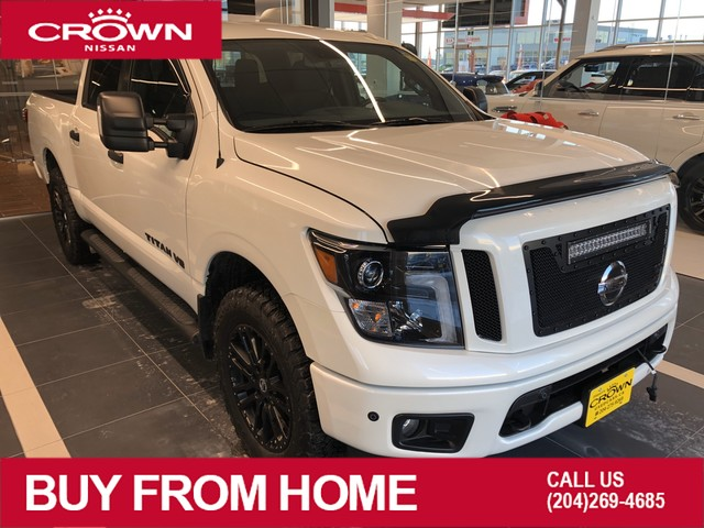 Pre-Owned 2018 Nissan Titan SV Midnight Edition *Backup Camera/LED Grill/Lift Kit/$7000 in Add-Ons!*