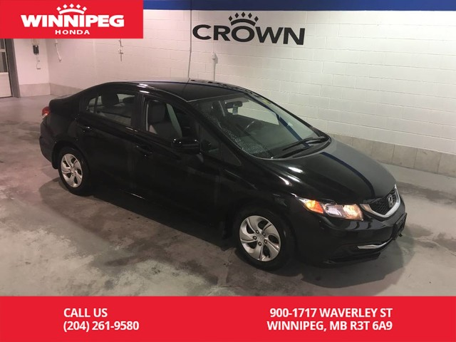 Pre-Owned 2015 Honda Civic Sedan Certified/LX/Heated seats/Bluetooth/Rear view camera