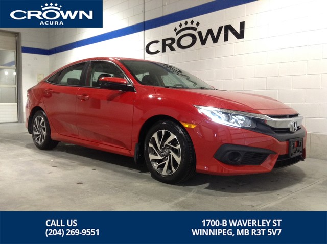 Pre-Owned 2017 Honda Civic Sedan EX Sedan **Honda Sensing ** Sunroof **