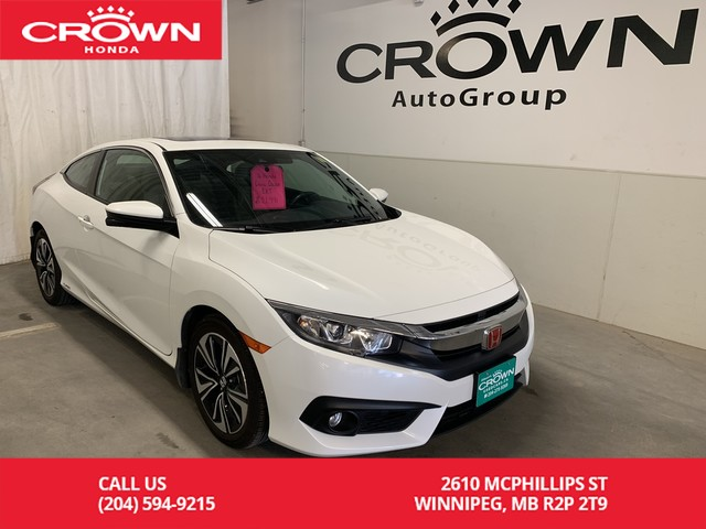 Pre-Owned 2016 Honda Civic Coupe 2dr CVT EX-T w/Honda Sensing