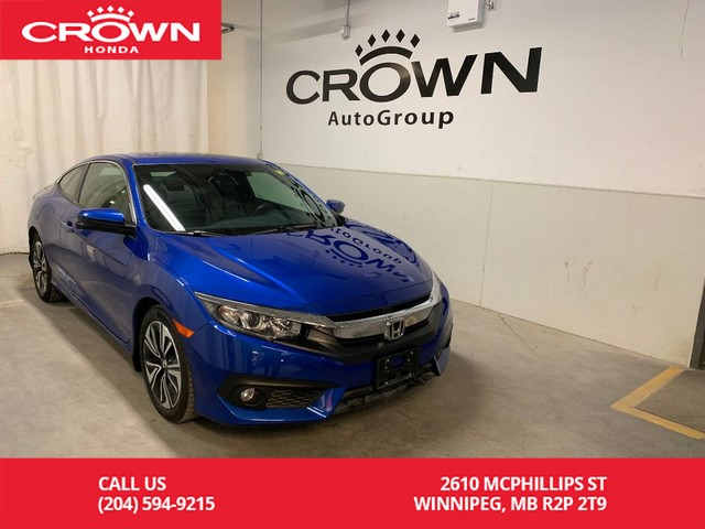 Pre-Owned 2017 Honda Civic Coupe 2dr CVT EX-T w/***24th ANNUAL VICTORIA DAY SALE***/Honda Sensing