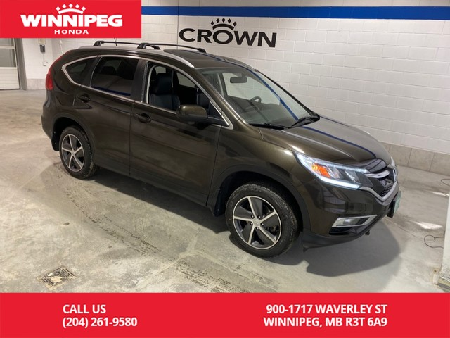 Pre-Owned 2015 Honda CR-V EX-L / Crown Original / Sunroof / Heated seats / Rear view camera