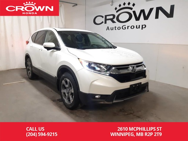 Pre-Owned 2017 Honda CR-V EX-L/ one owner lease return/ low kms/ push start/ back up cam/ heated seats/ Bluetooth/ sunroof