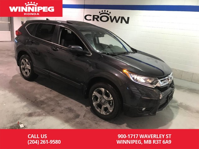 Pre-Owned 2019 Honda CR-V EX-L/Heated seats/Sunroof/Leather/Remote start