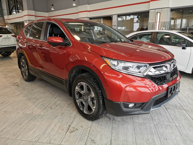Pre-Owned 2017 Honda CR-V EX-L / AWD / LEATHER / Honda SAFETY SENSE / SUNROOF / APPLE CARPLAY / ANDROID AUTO / PUSH BUTTON / HEATED SEATS / BACK UP CAMERA / ACCIDENT FREE / LOCAL