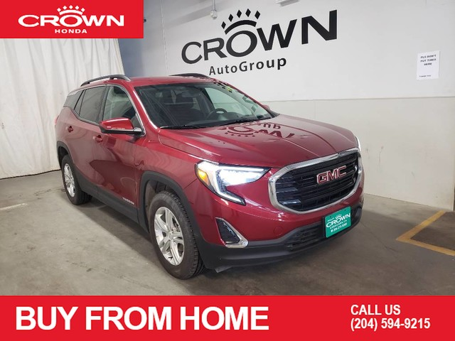 Pre-Owned 2018 GMC Terrain AWD 4dr SLE, Apple CarPlay/Android Auto, Auto-dimming Rear-View mirror, Bluetooth