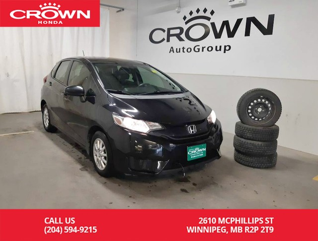 Used Tires Winnipeg >> Pre Owned 2015 Honda Fit Lx Accident Free History Low Kms Winter Tires Back Up Cam Heated Seats Econ Mode Assist Fwd Hatchback