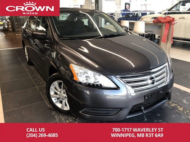 Pre-Owned 2015 Nissan Sentra SV *Bluetooth/Remote Starter/Accident Free*