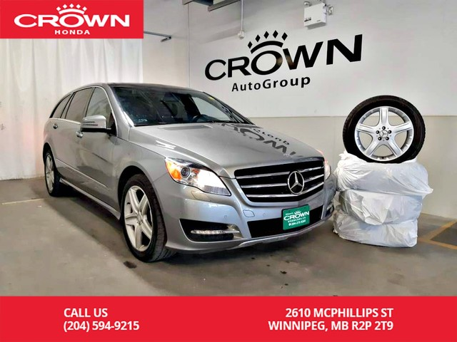 Pre-Owned 2013 Mercedes-Benz R-Class R 350 BlueTEC 4MATIC/7 PASSENGERS/winter tires/ LOW KMS/