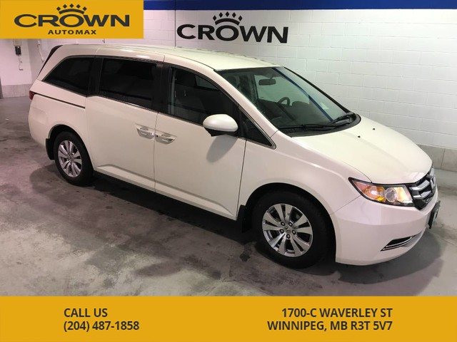 Pre-Owned 2015 Honda Odyssey EX ** No Accidents, Power Sliding Doors **