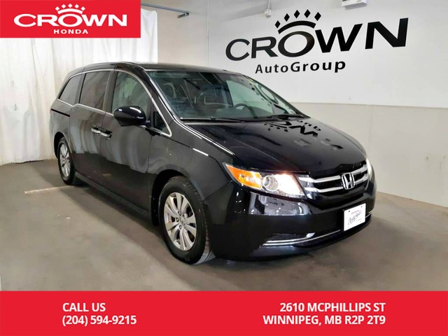 Certified Pre-Owned 2017 Honda Odyssey EX/ ONE OWNER/ ACCIDENT-FREE/LOW KMS/ PUSH START/ HEATED SEATS/ BACK UP CAM