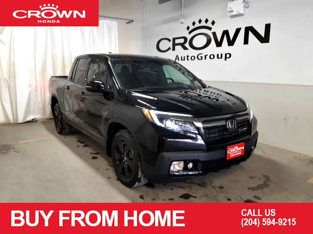Pre-Owned 2019 Honda Ridgeline Black Edition AWD/ Good as New/ navigation/ sunroof/ back up cam