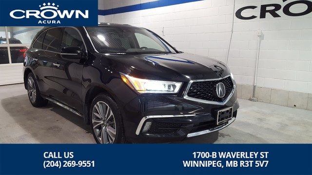 Certified Pre-Owned 2017 Acura MDX Elite SH-AWD **Rare 6 Passenger** Includes No Charge Extended Ce