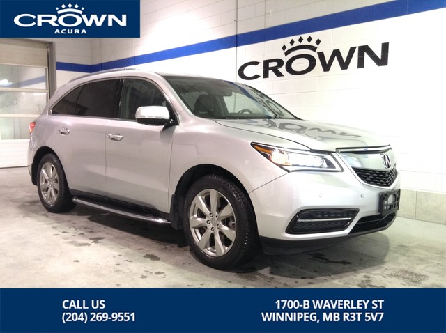 Pre-Owned 2014 Acura MDX Elite SH-AWD **Running Boards ** Rear DVD Player **
