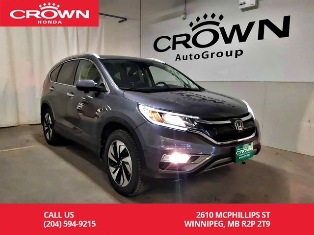 Pre-Owned 2016 Honda CR-V Touring/awd/one owner/remote start/navigation/back up cam/heated seats/sunroof