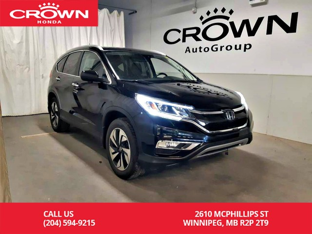 Pre-Owned 2015 Honda CR-V Touring/AWD/PUSH START/ECON MODE/HEATED SEATS/LOW KMS/BACK UP CAMERA