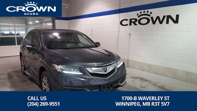 Certified Pre-Owned 2016 Acura RDX TECH SH-AWD **Includes Running Boards** Includes Free Extended Warranty**