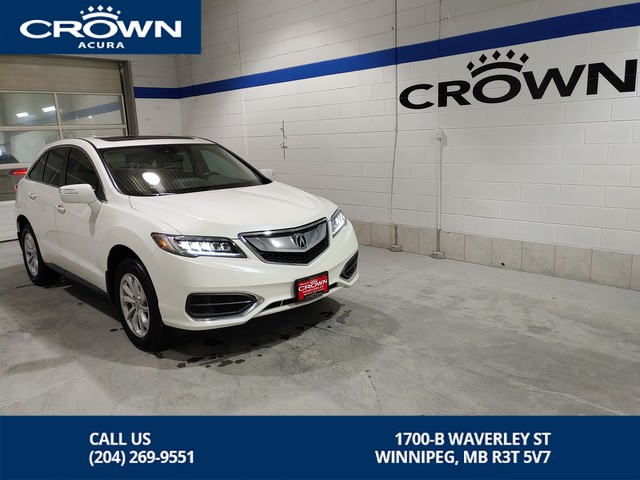 Certified Pre-Owned 2017 Acura RDX Tech AWD **Includes No Charge Extended Warranty** Includes Remote Start** Navigation**