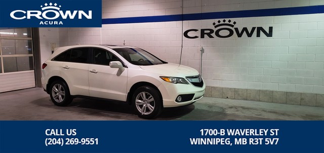 Pre-Owned 2013 Acura RDX Tech SH-AWD ** Navigation ** Sunroof **