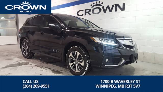 Certified Pre-Owned 2018 Acura RDX Elite AWD **Includes No Charge Extended Warranty** 2 Way Remote Starter Included**