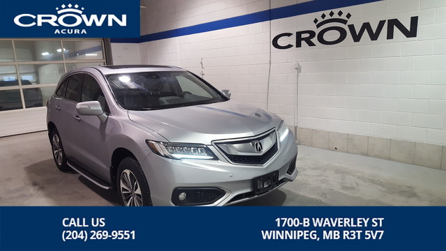 Certified Pre-Owned 2017 Acura RDX Elite AWD ** No Charge Extended Warranty ** Includes Running Boards**