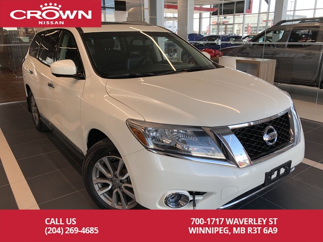 Pre-Owned 2015 Nissan Pathfinder SL 4WD 7 Passenger *Navi/Bluetooth/360  Camera* AWD