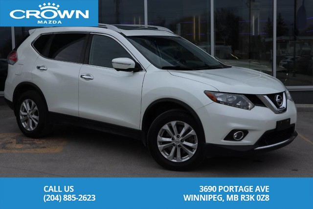 Pre-Owned 2015 Nissan Rogue SV Tech **Local Vehicle/Previous Lease**