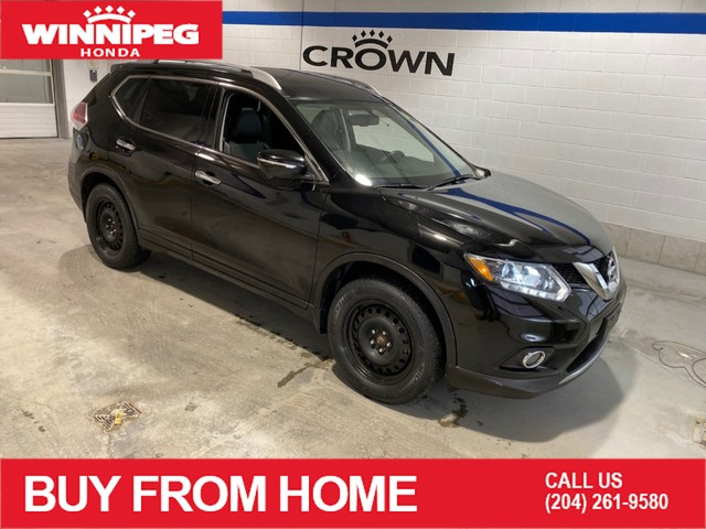 Pre-Owned 2014 Nissan Rogue SL / Leather / 360 camera / Heated seats / Navigation