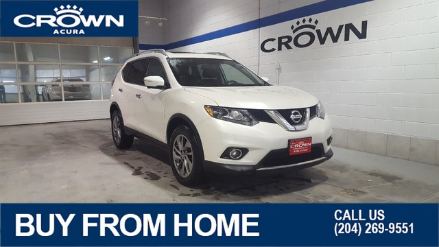 Pre-Owned 2015 Nissan Rogue SL AWD **Heated Leather** Navigation**