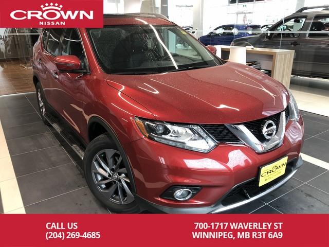 Pre-Owned 2016 Nissan Rogue SL AWD *Clean CarFax/Bluetooth/Navigation*