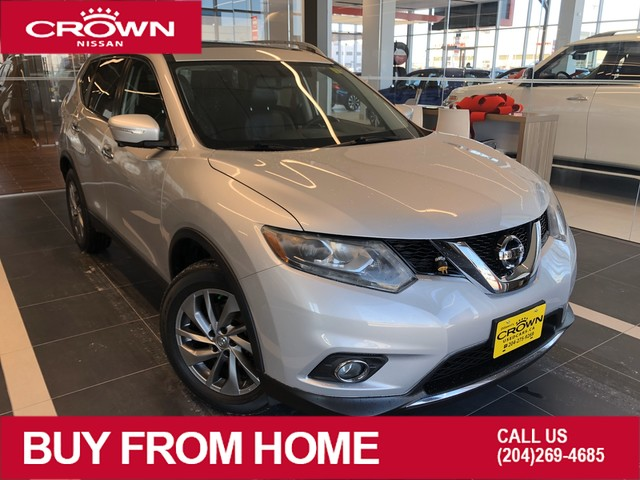 Pre-Owned 2015 Nissan Rogue SL AWD *Navigation/Accident Free/Remote Start*
