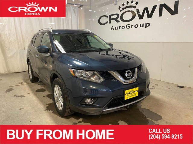 Pre-Owned 2016 Nissan Rogue SV/ LOW KMS/ HEATED FRONT SEATS/ BACKUP CAMERA/ BLUETOOTH/ NAVIGATION