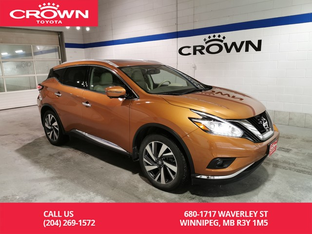 Pre-Owned 2017 Nissan Murano Platinum AWD / Crown Original / Lease Return / Accident Free / Great Condition