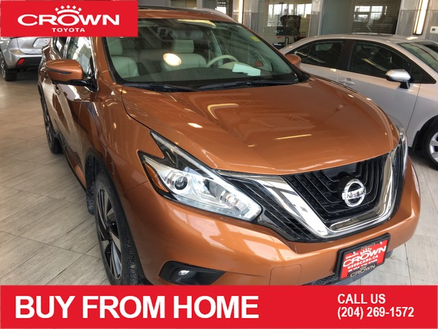 Pre-Owned 2017 Nissan Murano Platinum | Local | One Owner | Accident Free