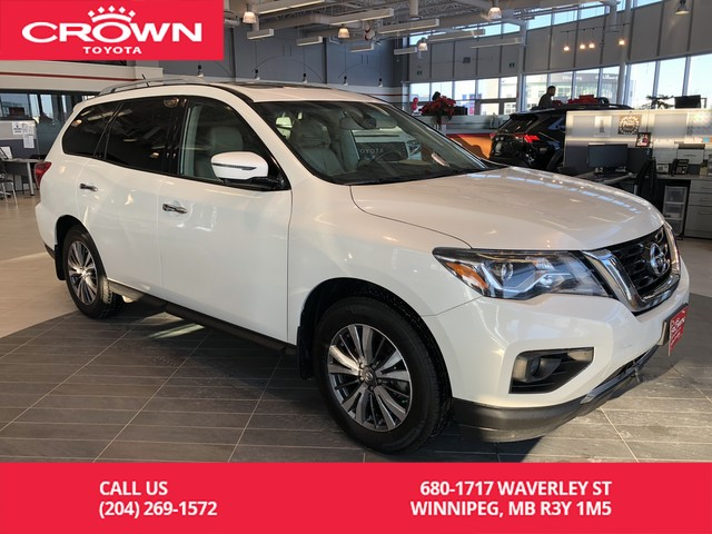 Pre-Owned 2018 Nissan Pathfinder SL 4x4 / Accident Free / Local / One Owner