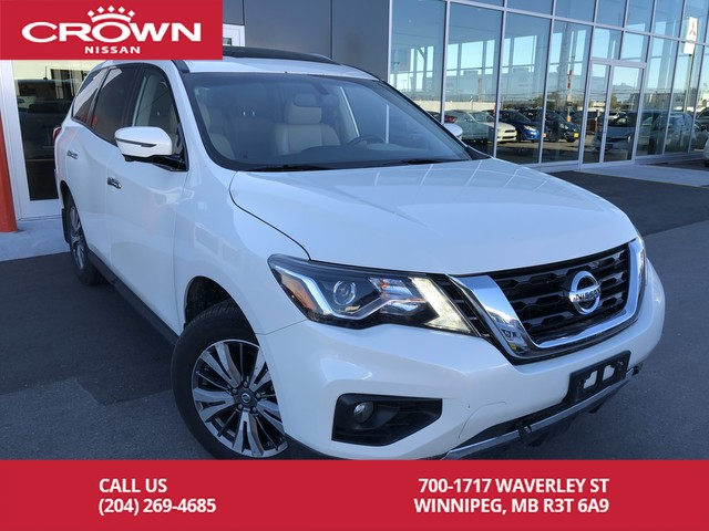 Pre-Owned 2018 Nissan Pathfinder SL Premium 4WD *Accident Free/Navi/360 Backup Cam*