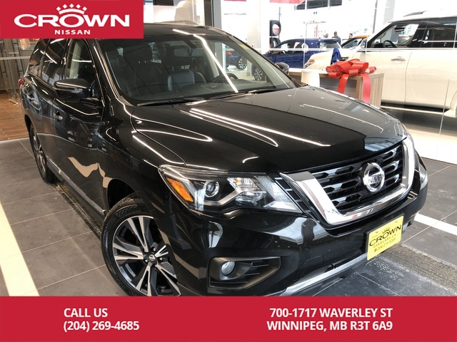 Pre-Owned 2018 Nissan Pathfinder Platinum 4WD *Bluetooth/Navigation/Remote Start*