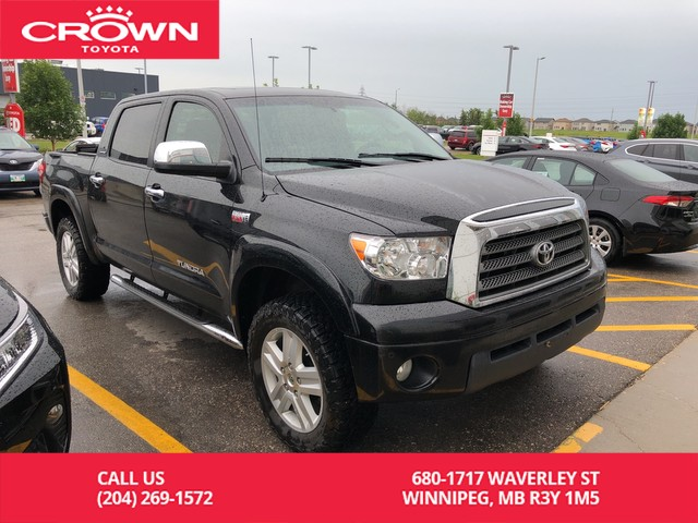 Pre-Owned 2008 Toyota Tundra Limited Crewmax 4WD / Crown Toyota Original / One Owner / Local / Great Condition