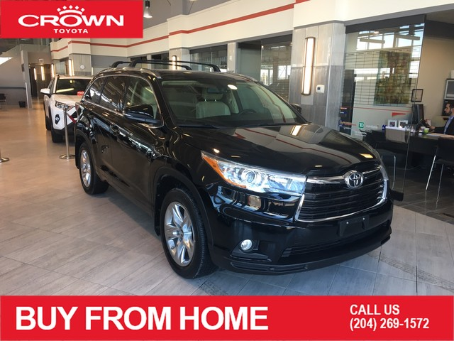 Pre-Owned 2016 Toyota Highlander AWD | Limited | Local Trade