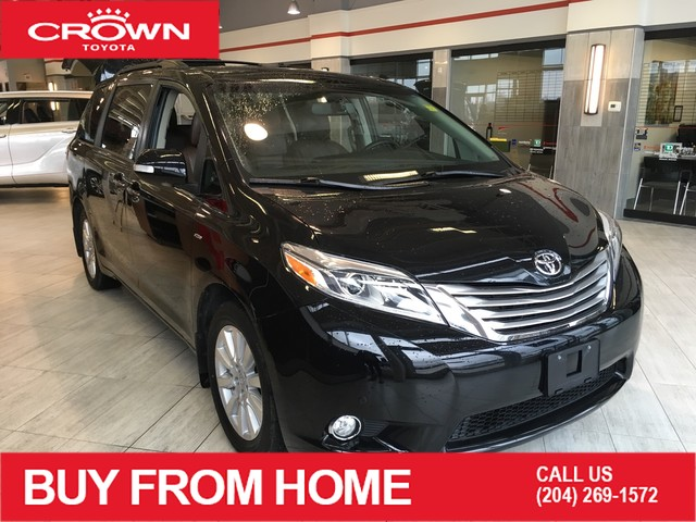Certified Pre-Owned 2017 Toyota Sienna XLE | 7-Pass | AWD | Crown Original