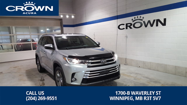 Pre-Owned 2017 Toyota Highlander Limited AWD **Navigation** Heated Leather Seats** Crown Original**