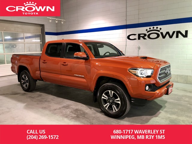 Pre-Owned 2016 Toyota Tacoma TRD Sport Upgrade Pkg 4WD Double Cab Auto / One Owner / Local / Great Condition / Wireless Charging / Great Value